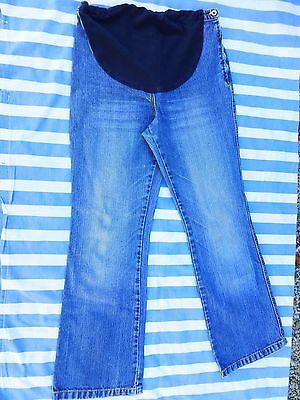 Ehrlich Umstandsjeanshose Blau Größe 38 C & A -