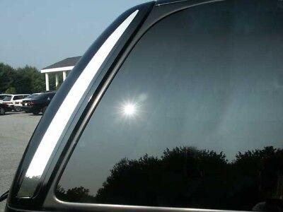 RW47255 2 Pc: Stainless Steel Rear Window Trim, 4-door, SUV QAA FITS ESCALADE 2007-2014 CADILLAC