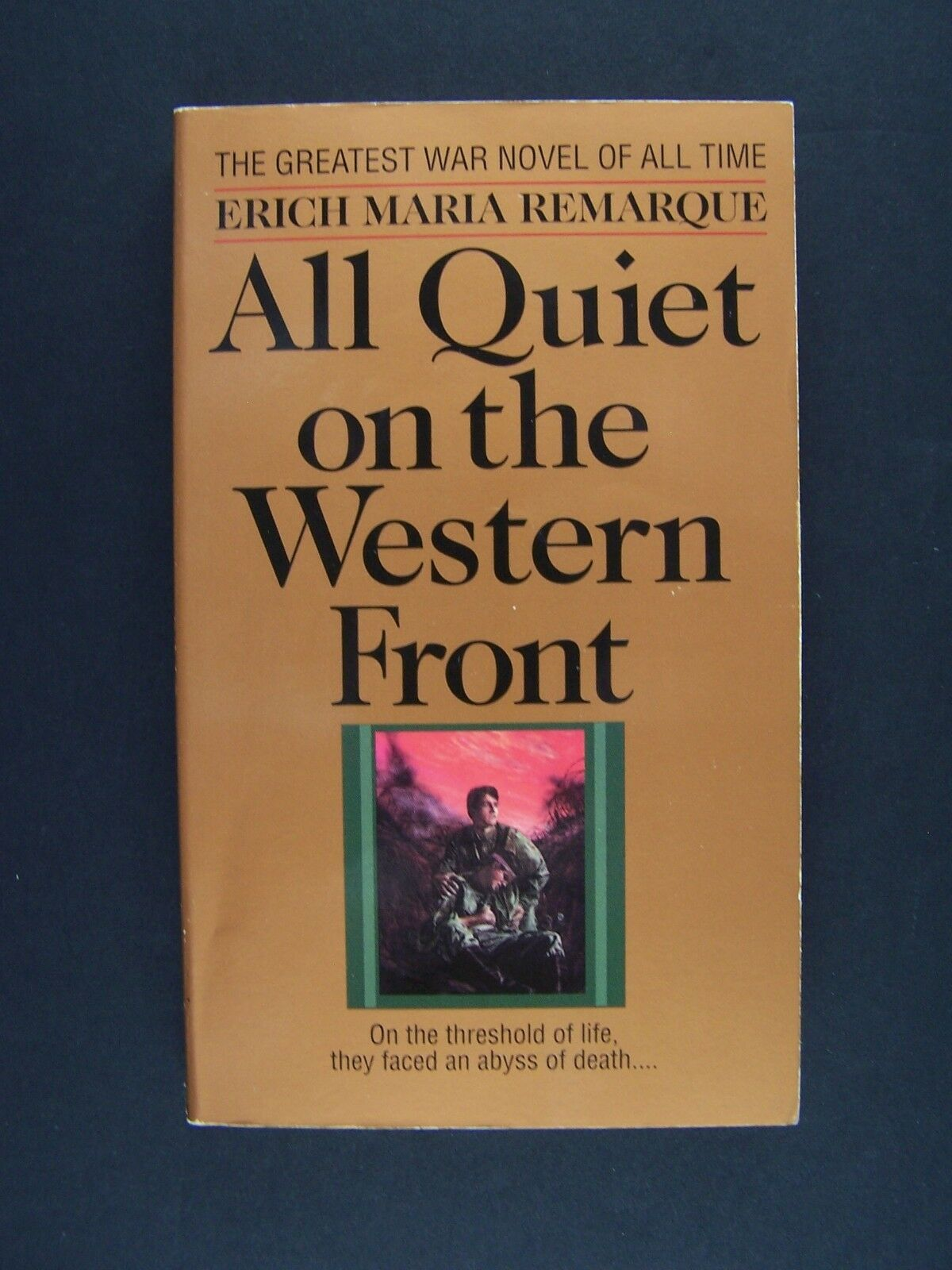 All Quiet on the Western Front Mass Market Paperback by