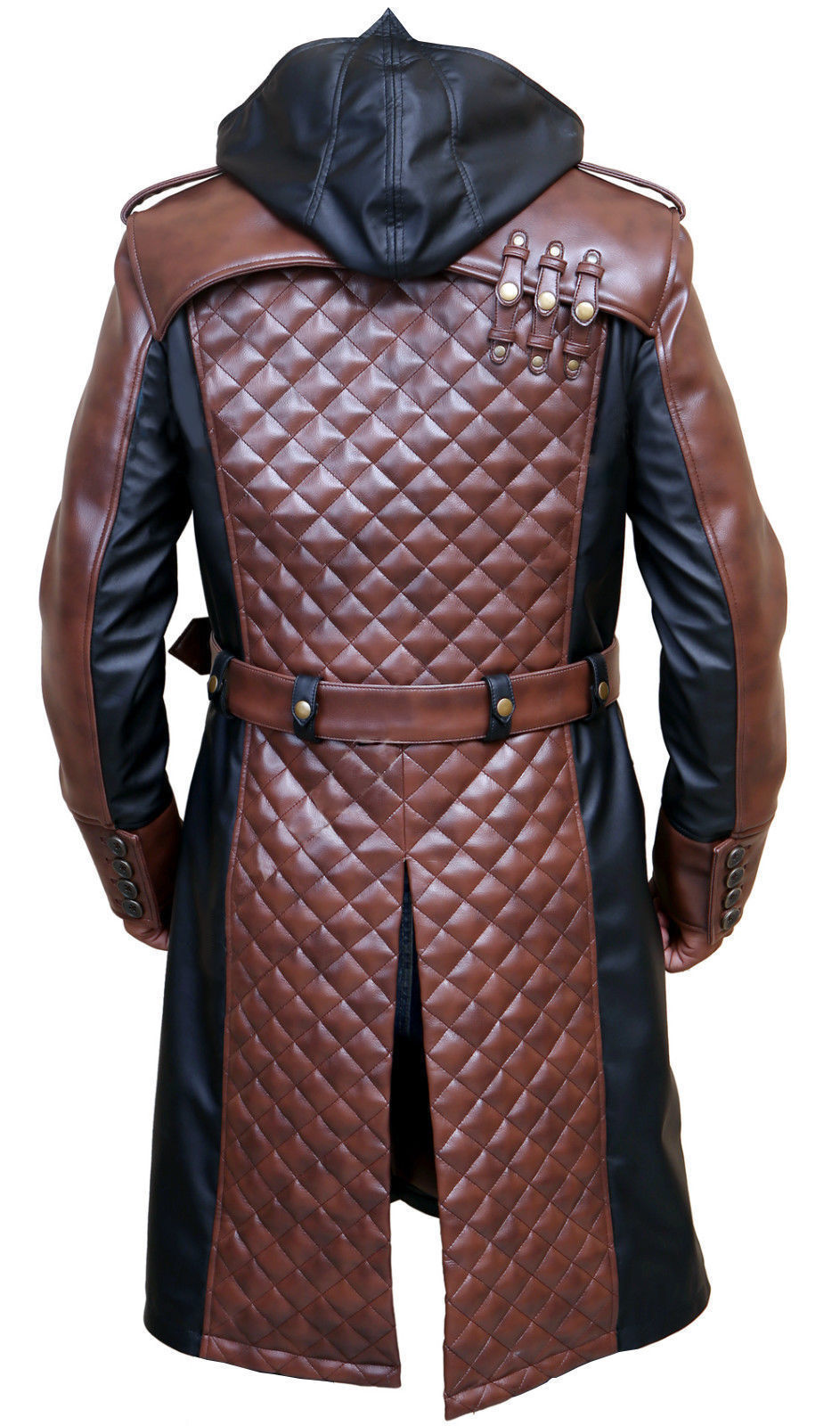 Jacob Frye Assassin's Creed Syndicate Mens Leather Leather Leather Trench Coat Costume-BNWT | Kaufen Sie beruhigt und glücklich spielen