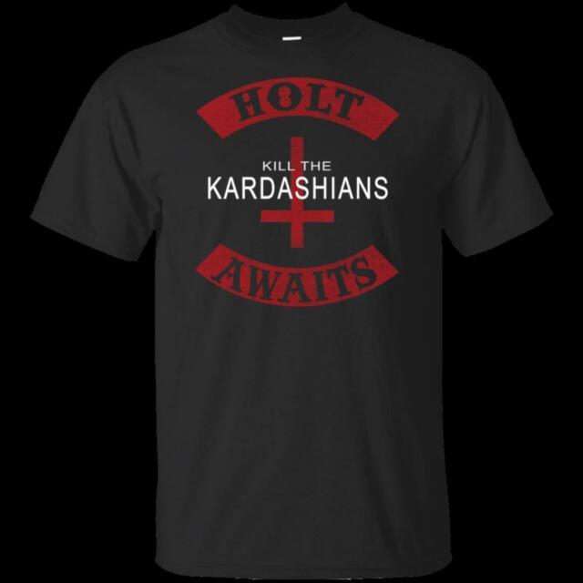 Slayer Gary Holt black 100/% cotton tee Kill the Kardashians t shirt