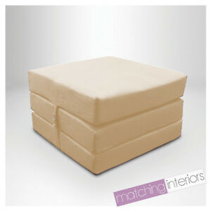 Stone Splashproof Wipe Clean Fold Out Cube Mattress Guest