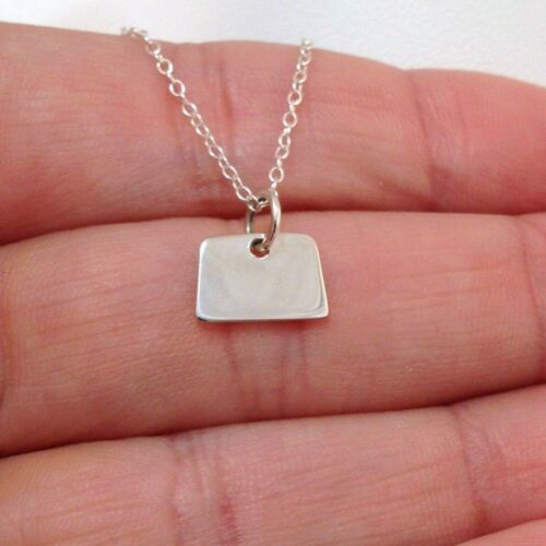 United States Charm Jewelry NEW 925 Sterling Silver Colorado State Necklace