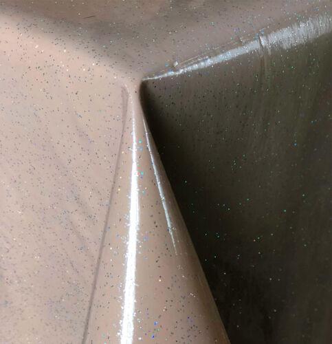 PVC Wachstuch Tischdecke ELEGANT GLITTER  Breite 120 cm Länge x wählbar KAIMAN