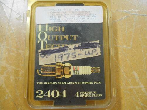 New NOS Champion Spark Plug R1N12YC 1975 /& Up #2404