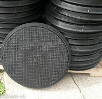 Inspection Chamber Manhole Covers 50cm Polyprop Round Drain Hole Cover & Frame
