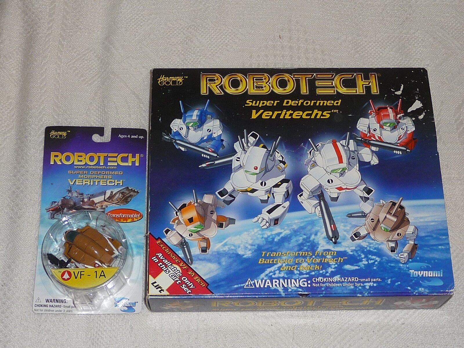 Toynami   Robotech Macross   Super Deformed Morpher VF-1 Collection + VF-1A NEW