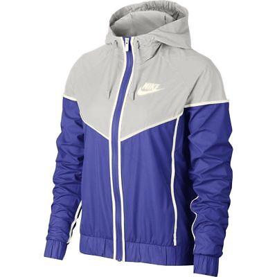 NIKE WMNS Sportswear Windrunner Jacket 883495 518 PURPLE-GREY (WOMEN S  MEDIUM) cc7c98a8d