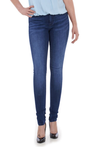 Womens Ladies Girls Ex M/&S Skinny Slim Leg Blue Faded Plus Size Jeans UK 6-18.