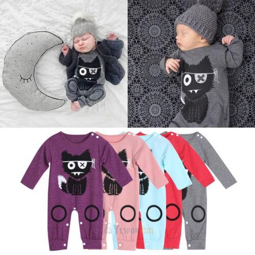 Baby Jungen Nachtwäsche Schlafanzug Nightsuit Strampler Einteiler Overall Outfit
