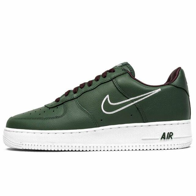 new high many styles unique design Nike Air Force 1 Low Retro Hong Kong Size 12 Deep Forest White 845053 300