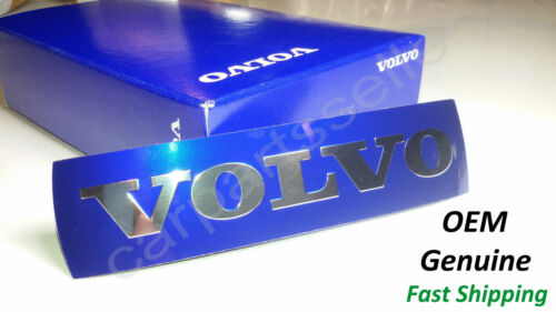 Volvo Front Grille Badge Logo Replacement Emblem Metal Sticker Big+Small Genuine