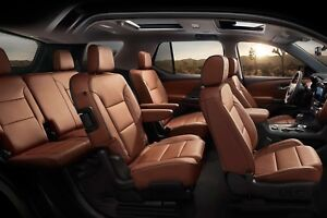 Fine Details About Factory Omg Cover Leather Seat For 2018 2019 Chevrolet Traverse Loft Brown Color Pdpeps Interior Chair Design Pdpepsorg