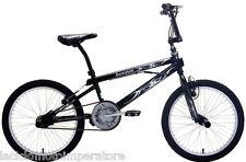 BICICLETTA 20 BMX SCORPION SCHIANO BICI FREESTYLE COLORE NERO E ARGENTO BIKE