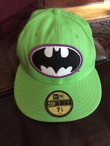 592c9e456ddf9 Batman 7 1/4 Fitted Cap DC Comics Originals New Era 59Fifty NWOT | eBay
