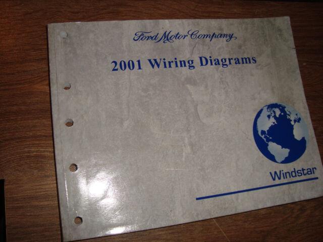2001 Ford Windstar Wiring Diagrams Manual Mwi