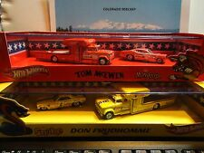 Hot Wheels Red Line Club Snake & Mongoose Hauler & Car Boxed Sets