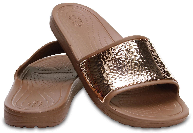 Crocs Women's Sloane Embellished Slide Sandal - Size UK4 , BNWT