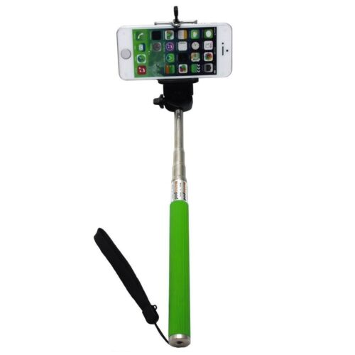 S2 S4 S3 S5 Green Selfie Stick Monopod /& Phone Adapter for Samsung Galaxy S1