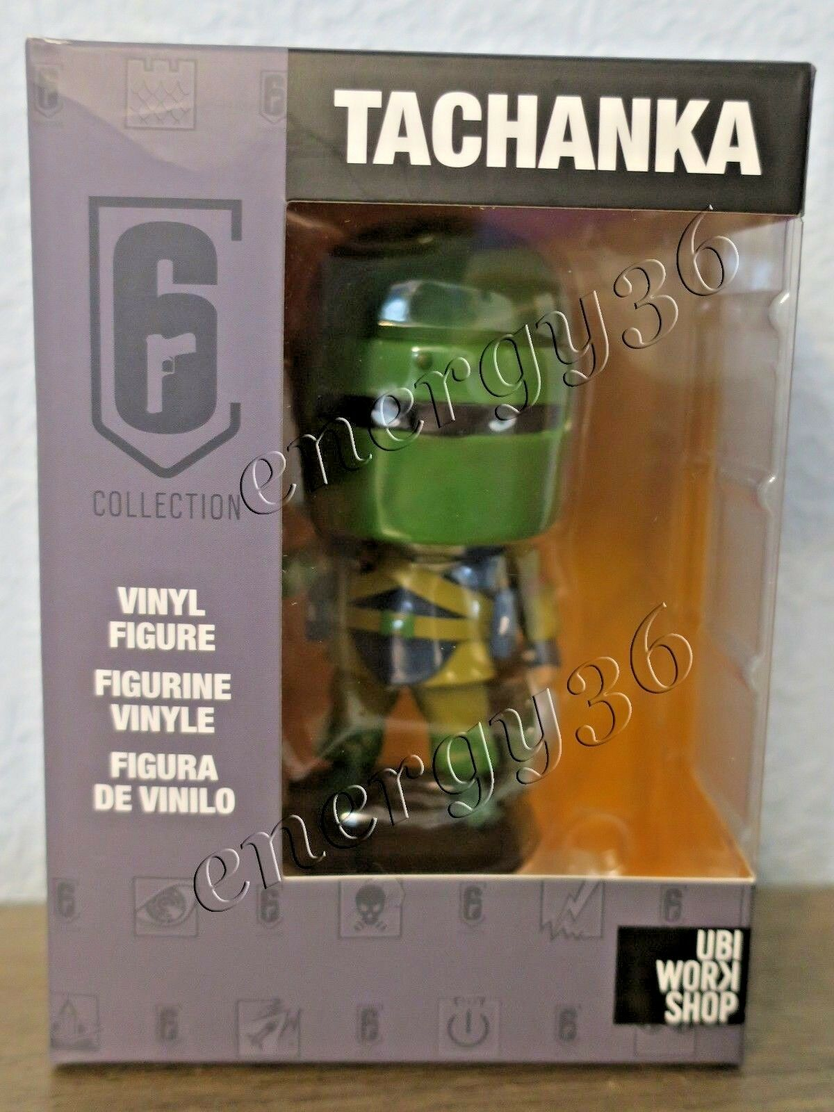 UBISOFT Six Collection vinyl figure Tachanka 10 cm from Rainbow Six Siege