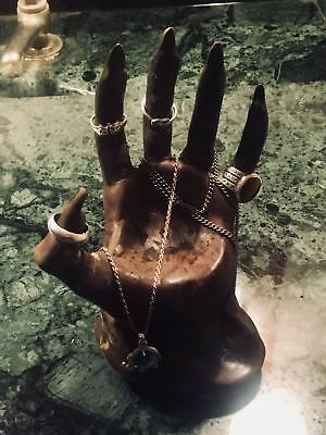 Mannequin Hand Jewellery Holder Ring Bracelet Necklace Display Stand feeanddave