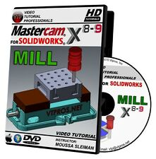 MASTERCAM X8-X9 FOR SOLIDWORKS - MILL Video Tutorial 720P HD QUALITY Training