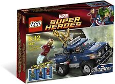 *BRAND NEW* LEGO Super Heroes AVENGERS Loki's Cosmic Cube Escape 6867