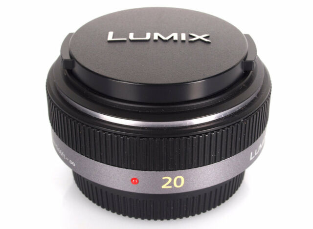 Panasonic Lumix G 20mm 1:1,7/20 ASPH objectif H-H020 Made in Japan