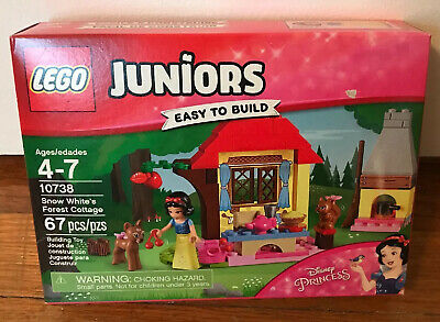 100/% Lego Snow White/'s Forest Cottage from 10738 with Accessories Disney NEW!