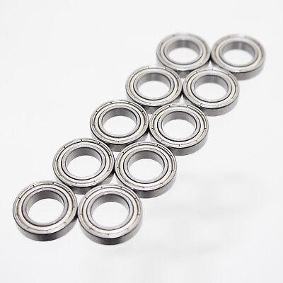 Kugellager 21 x 12 x 5 mm 6801 ZZ = 2Z Rillenkugellager Lager Metallabschirmung