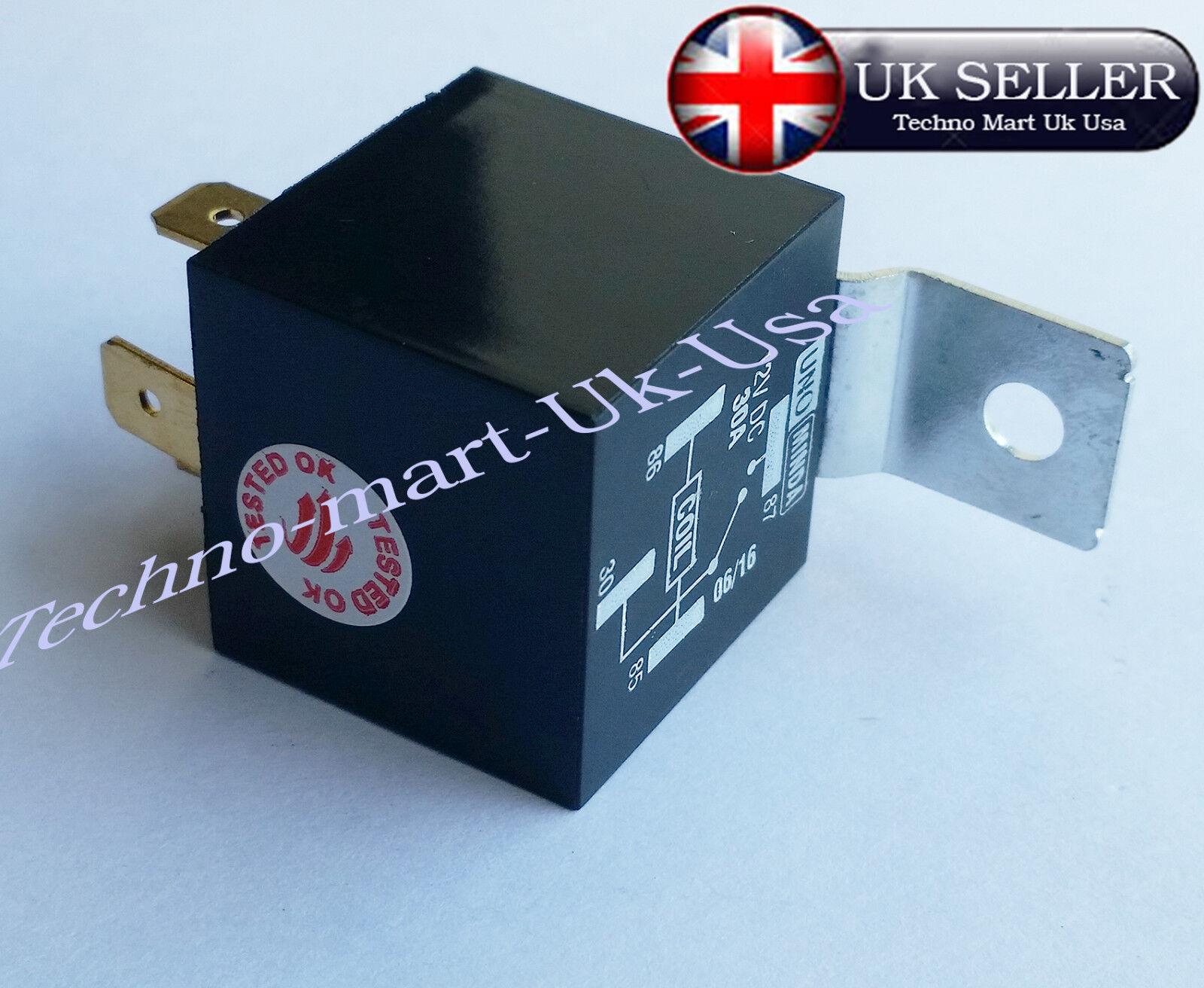 Royal Enfield Bullet All Model Motorbike 12v Unit 4 Pin Horn Relay Wiring Diagram Uk Ebay