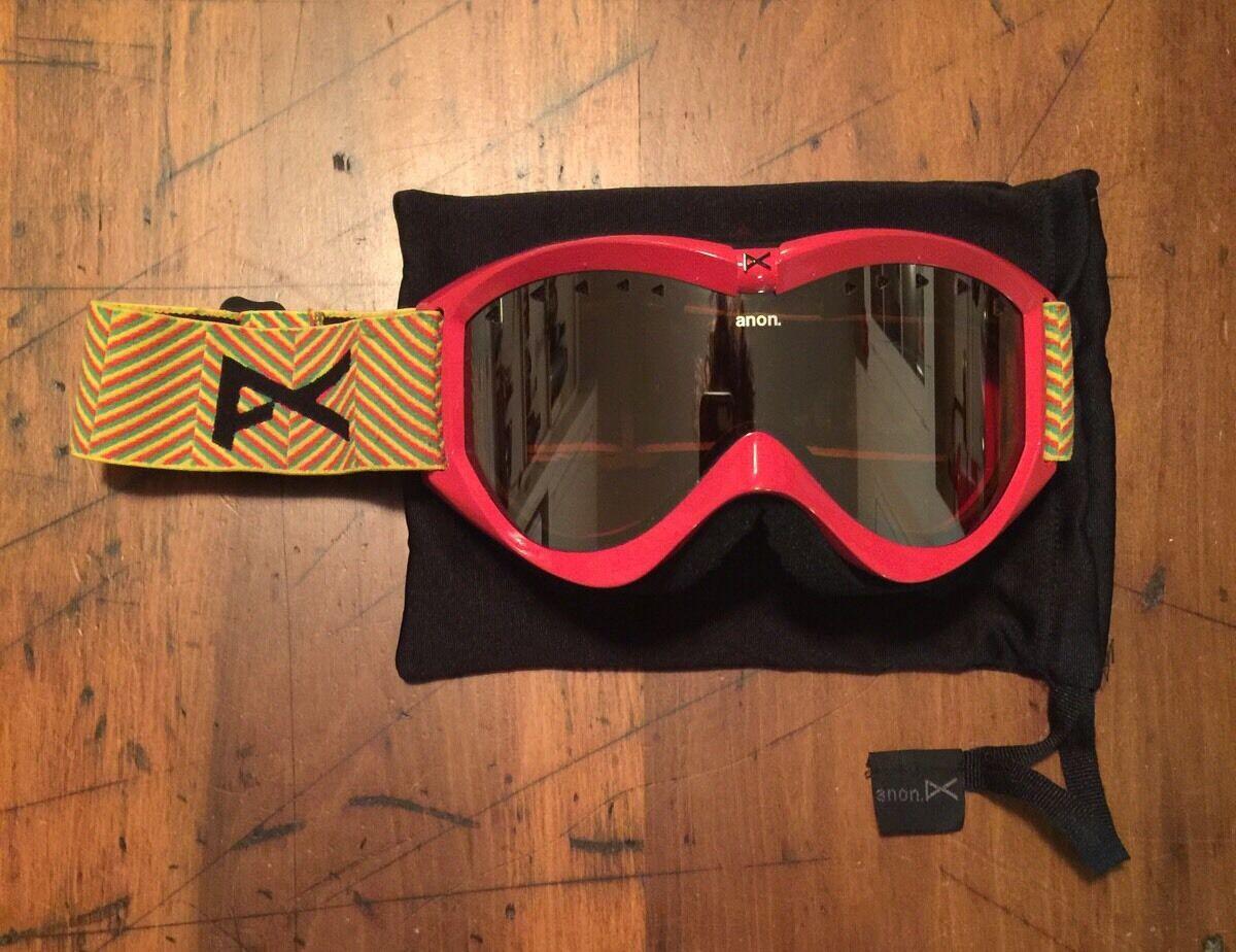Anon Ski Snowboard Mask Red