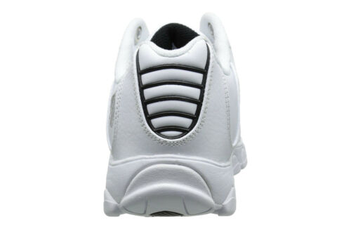 Silver Mens Training Tennis Shoes 03426-129-M Details about  /K-Swiss ST329 CMF White Black