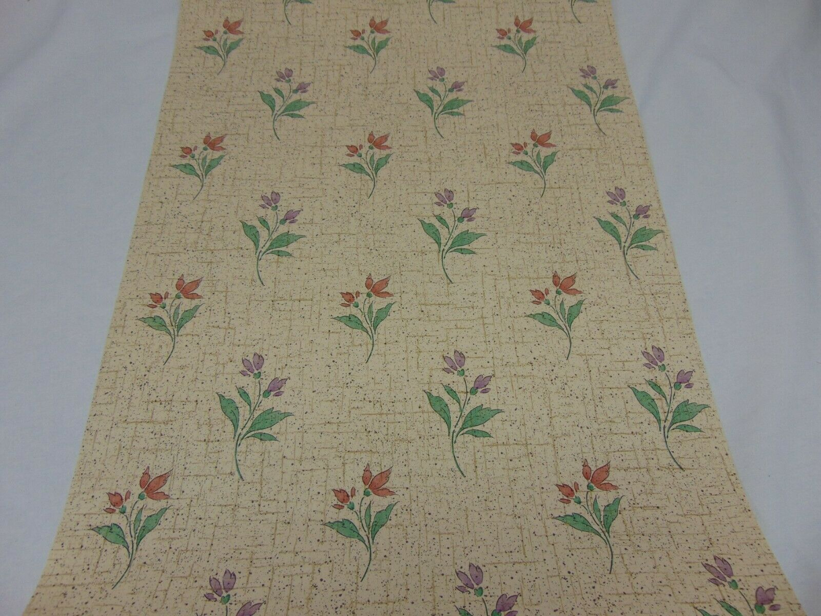 Vintage Double Roll Wallpaper Parkview Country Style Floral