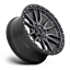 "thumbnail 2 - 20x9 Fuel D680 Rebel Gray Wheels Rims 33"" AT Tires Package 5x150 Toyota Tundra"