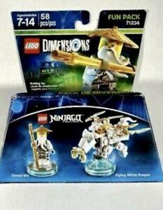 Lego Dimensions Ninjago  Sensei Wu Fun Pack 71234 New