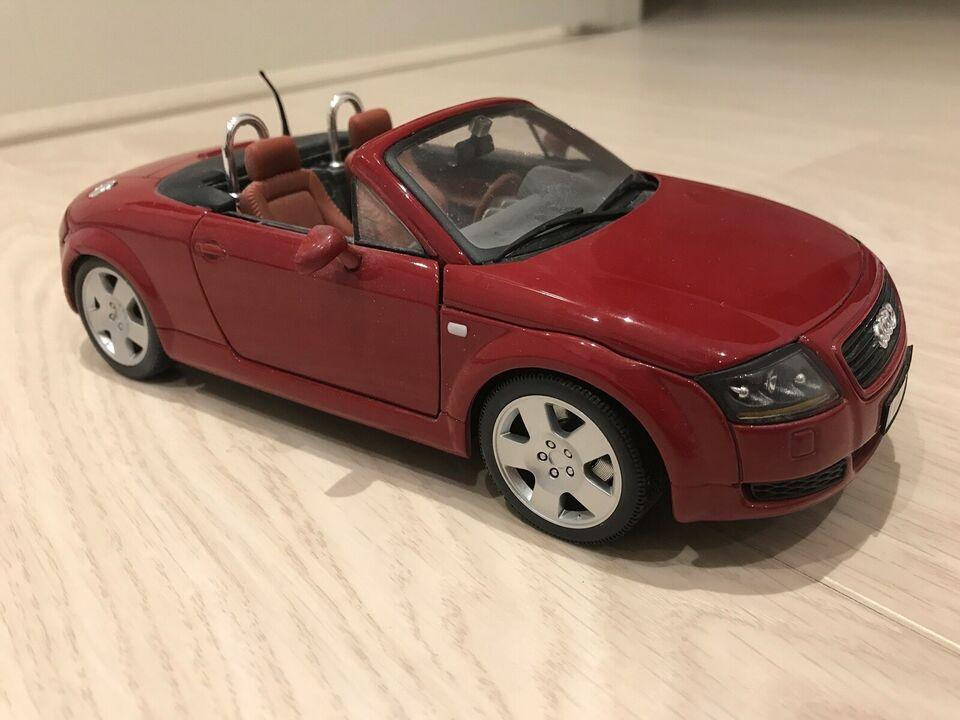 Modelbil, Audi TT Roadster 1/18, skala 1:18