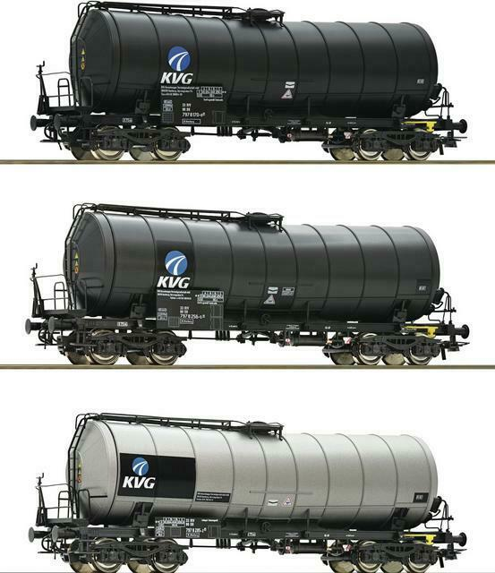 Roco h0 76156 3x zaes quiebro vagones gris plata KVG DB ep.5-6 nuevo ov a 76088