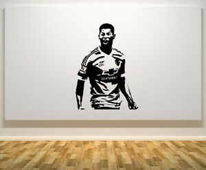 Image is loading Marcus-Rashford-England-English-Football-Player-Decal-Wall- & Marcus Rashford England English Football Player Decal Wall Art ...