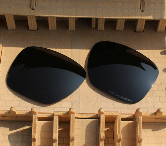 dcd4d91a339 BVANQ Polarized Lenses Replacement for-Oakley Sliver XL OO9341 Stealth Black
