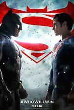 Batman V Superman Dawn Of Justice Original Movie Poster DS - Regular Style