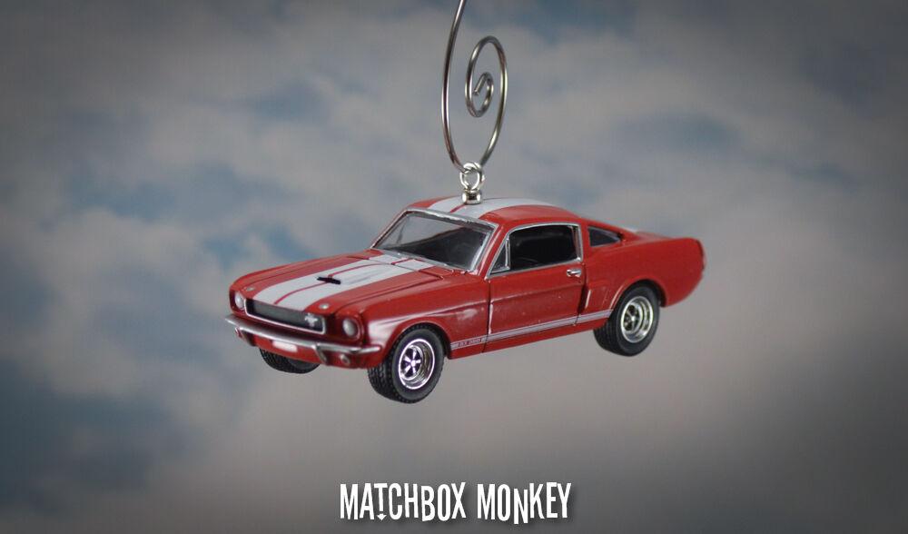 1966 Ford Shelby GT350 1 64th 64th 64th Personalizado Navidad Ornamento Adorno Mustang Carroll 2d439a