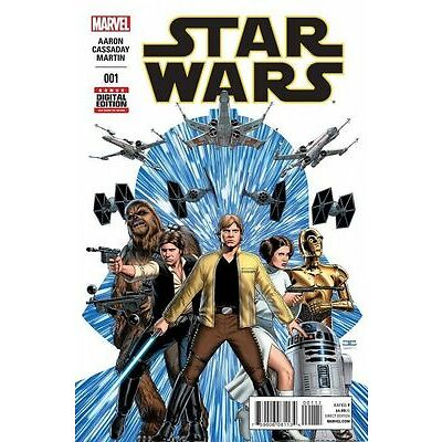STAR WARS ISSUE 1 - SOLD OUT FIRST 1st PRINT MARVEL COMICS - AARON 7 CASSADAY