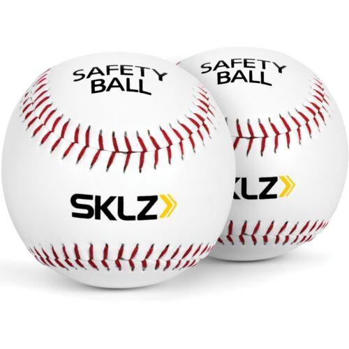 Kids Safety Ball Baseball 9in 2pc Set Soft Training Practice Equipment Sport New