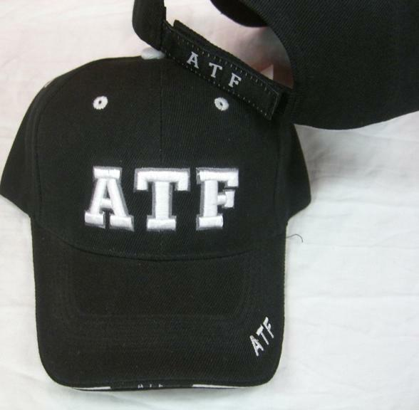 Atf Alcohol Tobacco Firearms Hat Embroidered Cap Baseball Ball A Ebay