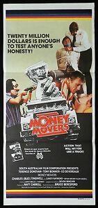 THE-MONEY-MOVERS-Tony-Bonner-VINTAGE-Australian-daybill-Movie-poster