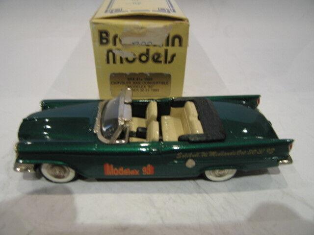 1 43  BROOKLIN MODELEX 1993 41X CHRYSLER 300E CONVERTIBLE 1959  magasin de gros