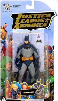 JLA Justice League 2 BATMAN 6in Action Figure DC Direct Toys