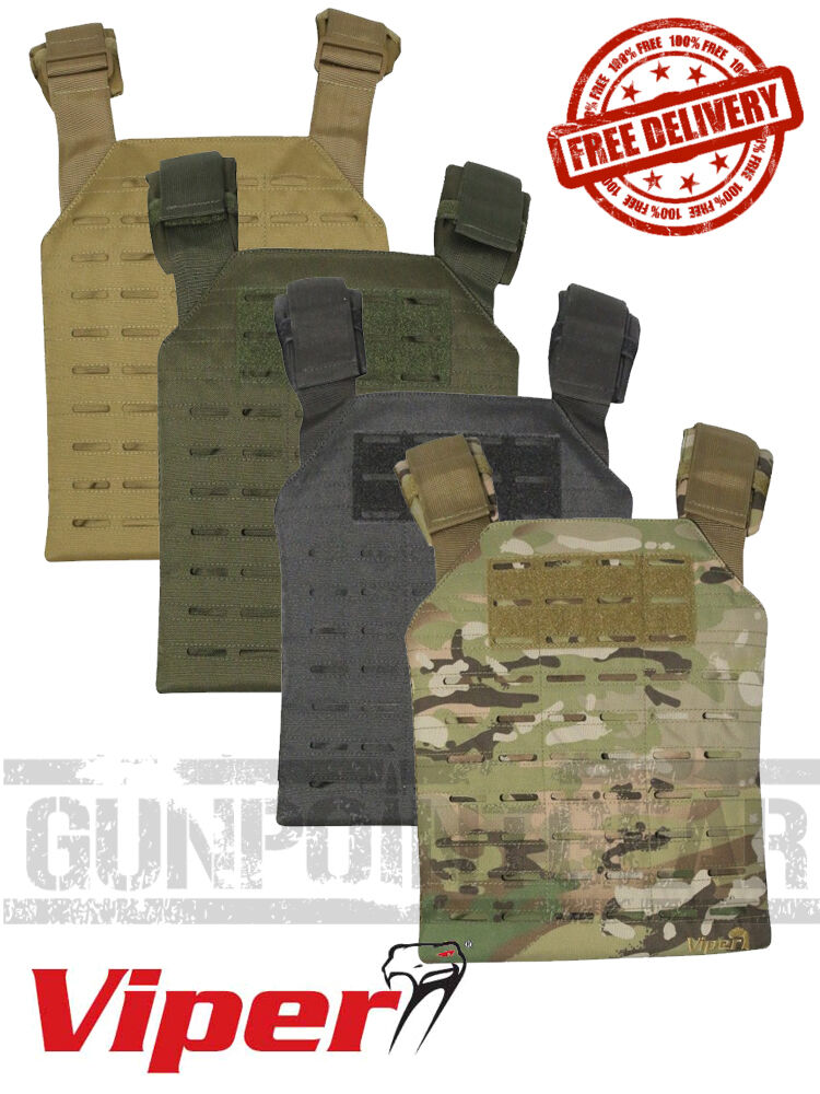 Viper Tactical Lazer Carrier Molle Plate Carrier FREE MORALE PATCH & UK SHIPPING