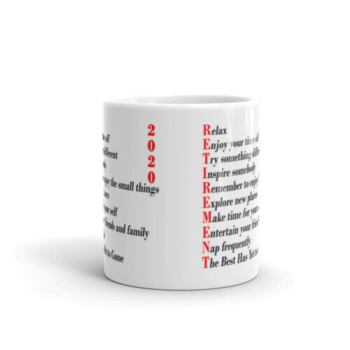 Details about  /Relax Enjoy Retirement Gifts 2020 Office Work Cup Gift Coffee Tea Ceramic Mug